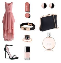 A fashion look from October 2016 featuring short in front long in back dress, platform heel sandals and handbags clutches. Browse and shop related looks. Dress Backs, Platform, Chanel, Fashion Looks, Rose, Heels, Polyvore, Outfits, Shopping