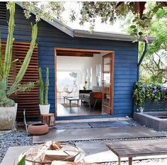 Open door house — indoor/outdoor living!