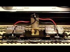 Cleaning Model Railroad Train Rail N Scale by Fifer Hobby Supply - YouTube