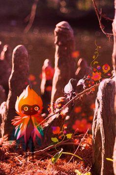 Sprouts by Lorena Alvarez Gómez, via Behance