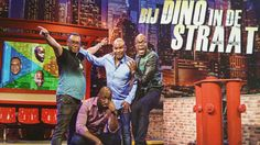 "Knowtname delivered Goody Bags to the Four hosts of the succes TV Show ""at Dino's street"""