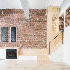 독특한 구조가 돋보이는 복층 아파트 인테리어 : 네이버 포스트