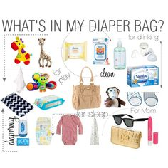 What's in my Diaper Bag? | Diaper Bag essentials for the baby and momma