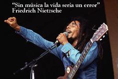 """""""Sin música la vida sería un error"""" Friedrich Nietzsche Más frases sobre la #musica http://www.muyinteresante.es/cultura/arte-cultura/articulo/buenas-frases-sobre-la-musica-321371798683 #music #Marley #quotes #Nietzsche"""