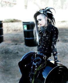 Cyber Goth.