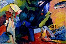 Improvisación IV (1909) W.Kandinsky.