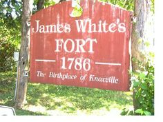 James White's Fort Knox County TN Mandela Effect, Fort Knox, Knox County, James White, East Tennessee, Early American, Historic Homes, Cloak, American History