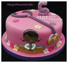 Doc McStuffins Birthday Celebration Cake