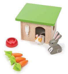 Bunny & Guniea Set contact Voodle for NZ Le Toy Van retailers
