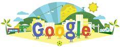 Copa Mundial de la FIFA 2014 en el Doodle