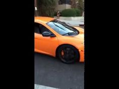 Kid Smashes The Windshield Of A $250,000 McLaren With A Skateboard [Video] - http://viralvibes.net/kid-smashes-mclaren-windshield
