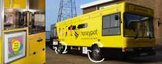 The Honeypot Playbus forms part of the outreach service, visiting  children that are vulnerable, isolated or in need within their local communities.