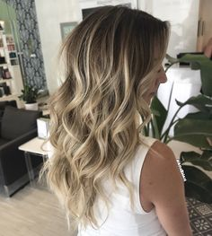 Perfect Rooted Blonde Balayage #Balayage #Highlights #rooted #blonde #ombre