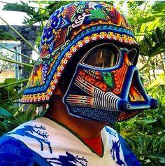 Incredible Huichol inspired art