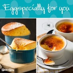 The best time to eat eggs is for dessert! Do you brûlée or soufflé #dailydish #picknpay #freshliving http://www.picknpay.co.za/recipe-search-results/souffl-au-citron http://www.picknpay.co.za/recipe-search-results/coconut-and-white-chocolate-creme-brulee