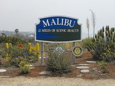 Malibu - 27 miles of scenic beauty and pristine beaches ... Southern California at its BEST <3