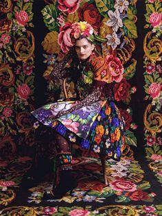 ❀ Flower Maiden Fantasy ❀ beautiful photography of women and flowers - Austrian designer Susanne Bisovsky