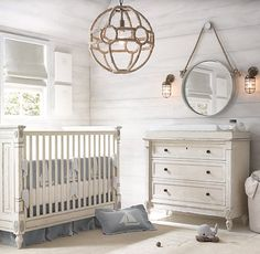 nautical accents complement french-inspired design. #rhbabyandchild