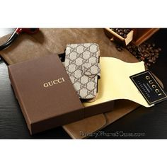 9b646e9b3bf592 Buy Luxury Real Gucci iPhone 6 /6 Plus Leather Wallet Cases – Classic 6s  Plus