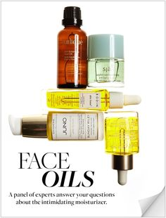 Everything a first-time user needs to know about face oil