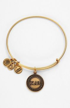Alex and Ani 'Kappa Alpha Theta' Expandable Wire Bangle available at #Nordstrom