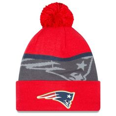 New England Patriots Gold Collection Knit Hat by New Era  7811bd112340