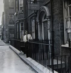 Mr Clements, Warden of St Hilda's East in Old Nichol St.