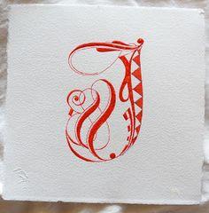 In uenerationem Titivillus: J chapter. Calligraphy Fonts Alphabet, Hand Lettering Alphabet, Alphabet Design, Alphabet Art, Chicano Lettering, Tattoo Lettering Fonts, Graffiti Lettering, Lettering Design, Monogram