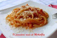 Il Pomodoro Rosso di MAntGra: Spaghetti alla matriciana