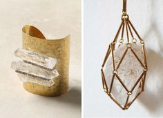 Bromeliad: Raw stone and crystal jewelry inspiration - Fashion and home decor DIY and inspiration