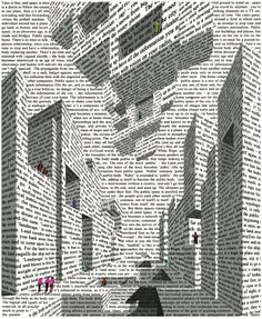 Vito Acconci, City of Words