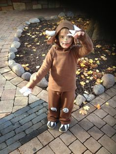 Oh Schreck oh Graus. Book Costumes, Book Week Costume, Gruffalo Costume, Schreck, Free Sewing, Holiday Parties, Halloween Decorations, Free Pattern, Hipster