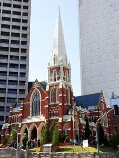 Albert Street Uniting Church, Brisbane, Queensland, Australia