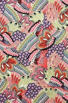 Alexander henry fabric textures and patterns pattern wallpaper, pattern art и pattern. Motifs Textiles, Textile Patterns, Textile Prints, Textile Design, Fabric Design, Art Prints, Pretty Patterns, Beautiful Patterns, Surface Pattern Design