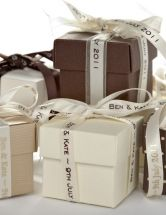 Personalised Satin Ribbon - A range of personalised luxury satin ribbons in a choice of beautiful colours and fonts.