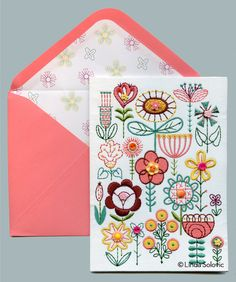Papyrus greeting card designed by Linda Solovic