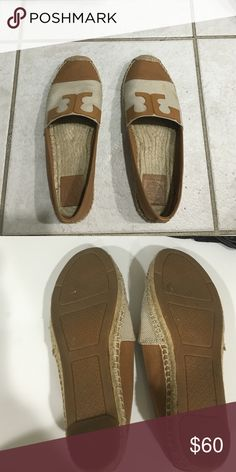 Tori burch loafers I only wore these a few times due to them not matching my style Tori Burch Shoes Espadrilles
