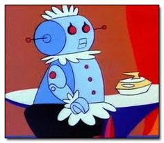 Rosie the Robot of the Jetsons Classic Cartoon Favorite Cartoon Character, Comic Character, Classic Cartoons, Cool Cartoons, Cartoon Tv, Cartoon Characters, Great Memories, Childhood Memories, Cool Robots