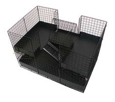 Blue Stone Cages - if you're going to buy your kid a guinea pig, please be kind to the animal and buy it a proper cage...not those shoeboxes that you can pick up at the pet store; would you like living your life in the human equivalent of a tiny bathroom?