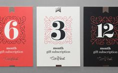 CardNest Gift Subscriptions on Behance