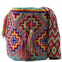 Мочила (Mochila) – like the colors Tapestry Bag, Tapestry Crochet, Knit Crochet, Crochet Bags, Mochila Crochet, Boho Bags, Craft Bags, Clutch, Knitted Bags