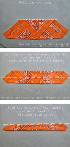 how to fold a bandana for a headband # headband wie man ein bandana ein kopfband faltet . how to fold a bandana for Scarf Hairstyles, Trendy Hairstyles, Fashion Hairstyles, Bandeau Bandana, Bandana Headbands, Bandana Hairstyles For Long Hair, Bandana Headband Tutorial, Bandana In Hair, Hair Bandanas