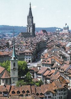 Bern, Switzerland. I want to go back.