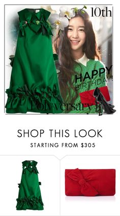 """""""Celebrate Our 10th Polyversary!"""" by ilona-828 ❤ liked on Polyvore featuring Maison Rabih Kayrouz, L.K.Bennett, Yves Saint Laurent, polyversary, contestentry, polyvoreeditorial and ILONA"""