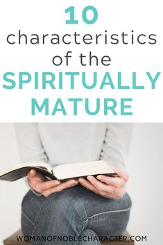 What it means to be spiritually mature and 11 characteristics that you are or are becoming spiritually mature including relevant scripture. Christian Post, Christian Marriage, Christian Parenting, Christian Women, Christian Living, Christian Faith, Encouraging Bible Verses, Bible Scriptures, Spiritual Life