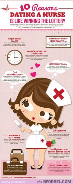 10 Reasons Why It's A Good Idea To Date A Nurse… | B for Bel