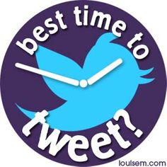 """Wondering the best time to tweet? How to increase Twitter engagement? And even get more retweets?  Wonder no more – a comprehensive study by Buddy Media recently generated a report named """"Strategies for Effective Tweeting: A Statistical Review."""