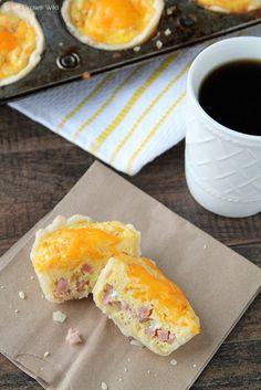 Ham and Cheese Mini Breakfast Pies