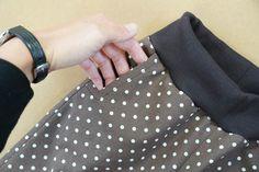 Návod jak ušít jednoduché dětské kalhoty (+ střih 80-164) - Prošikulky.cz Beginning Quilting, Couture, Fitbit Flex, Sewing, Clothes, Women, Decor, Scrappy Quilts, Clothing