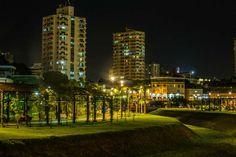 Iluminação noturna de Manaus. Visite o BrasilGuias